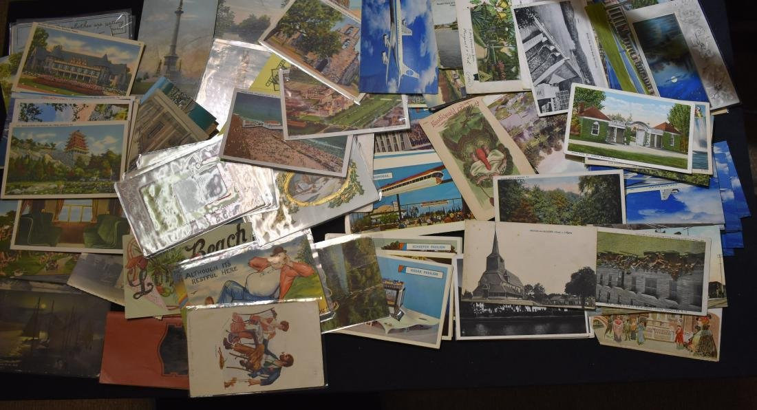 Collection of Vintage Postcards