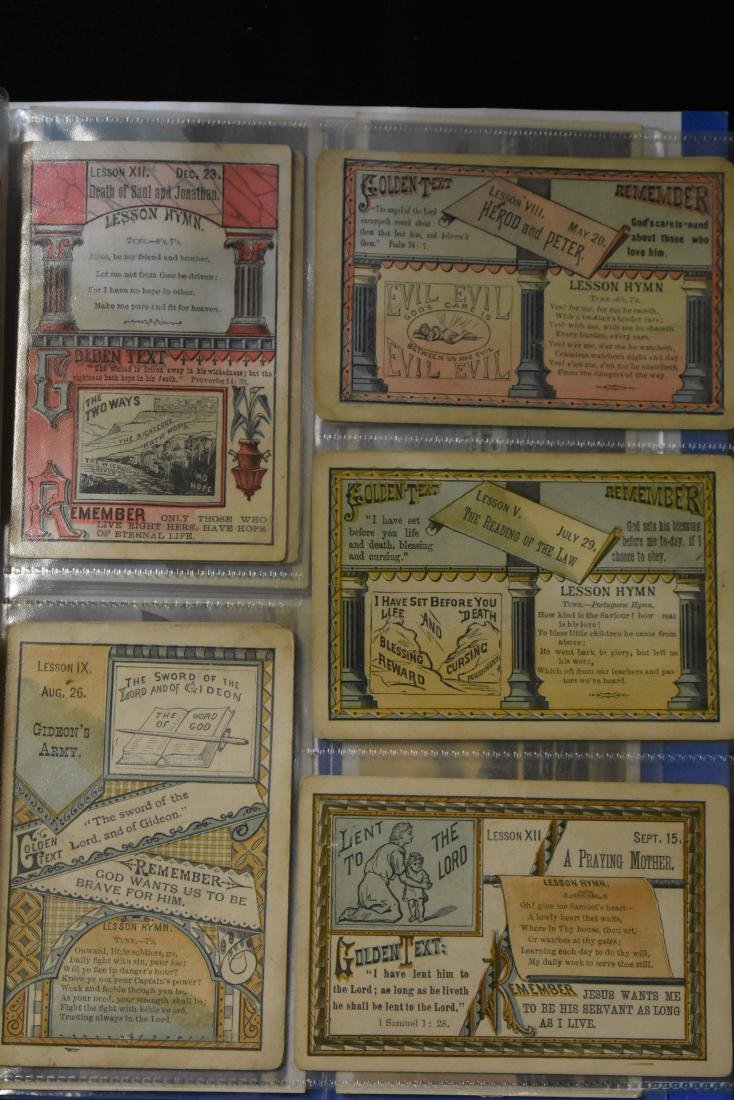 Grouping of Vintage Game Cards - 2