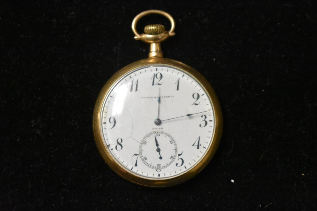 Harris and Shafer Pocket Watch