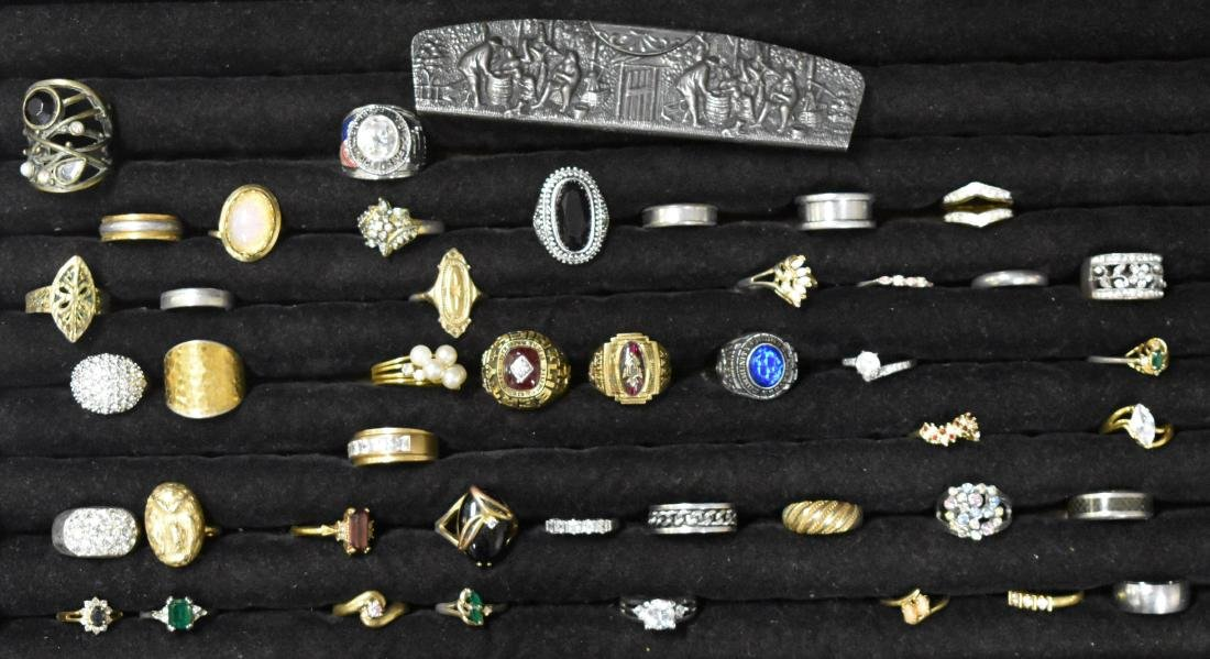 Collection of Forty Four Rings