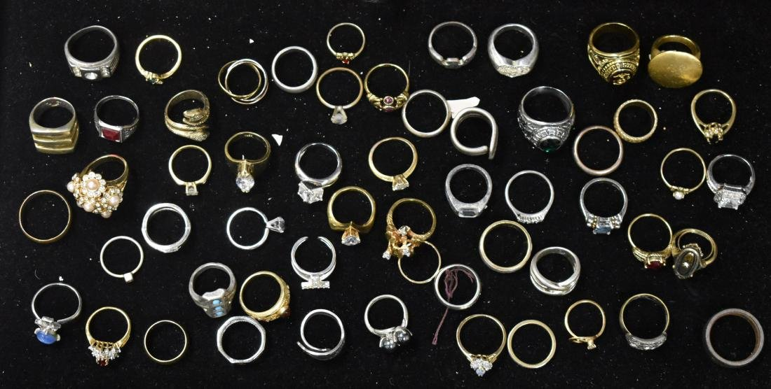 Collection of Fifty Four Rings
