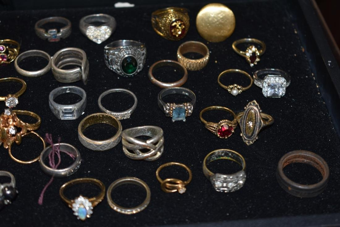 Collection of Fifty Four Rings - 2