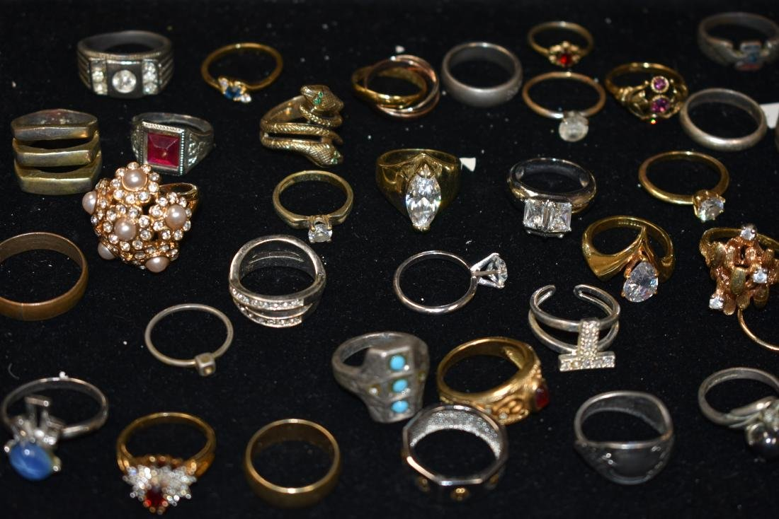 Collection of Fifty Four Rings - 3