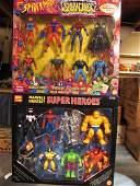 Marvel Comics Spider-Man Collector's Sets (2)