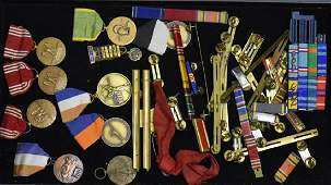 Military Bar Pins and Medals