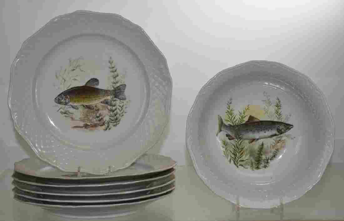 Fish Plates and Dish