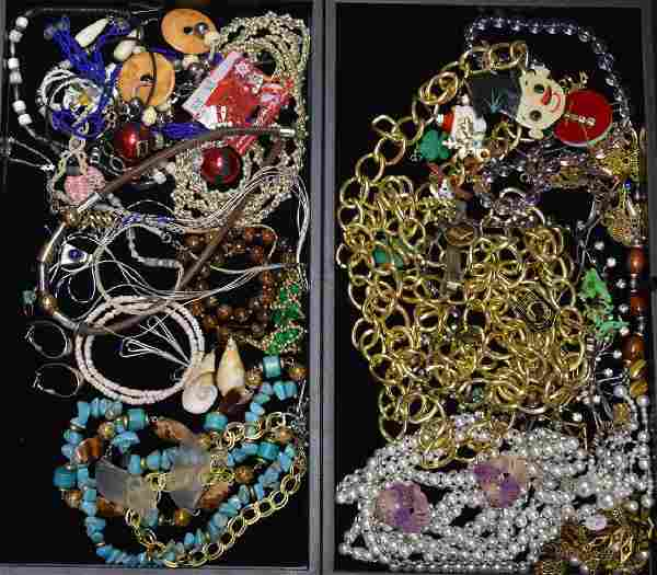 Costume and Sterling Jewelry Grouping