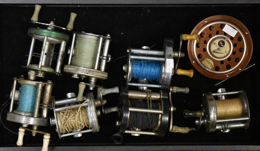 Group of Vintage Fishing Reels