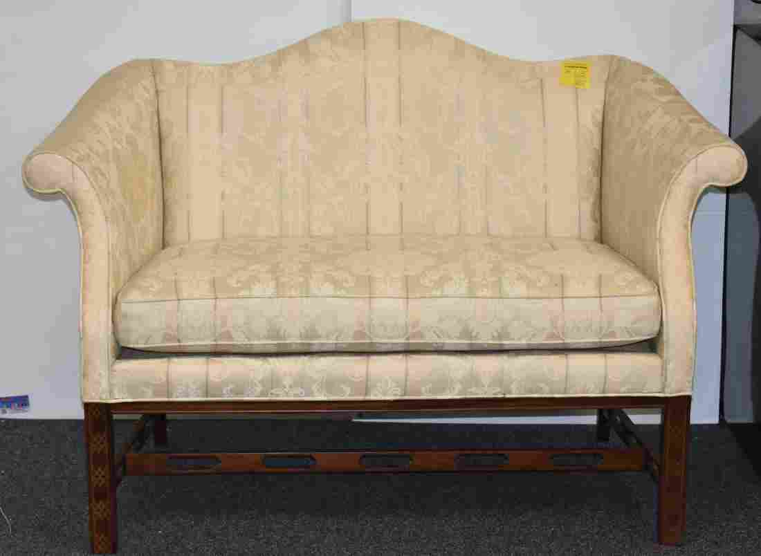 """1980's """"Hickory Co,"""" Love Seat"""