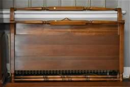 1930s Cherry Stickley Sleigh Bed
