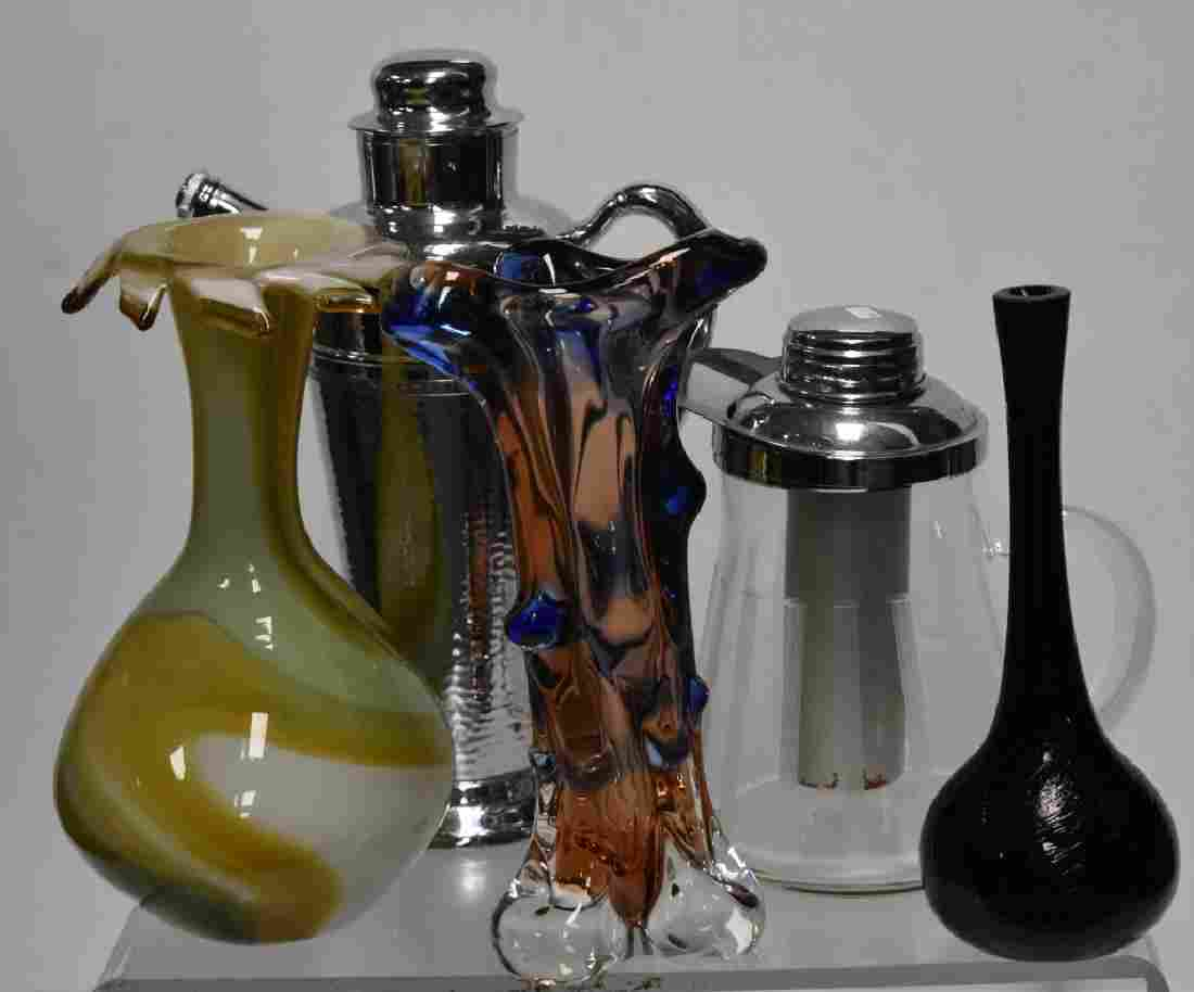 Art Glass and Bar Ware