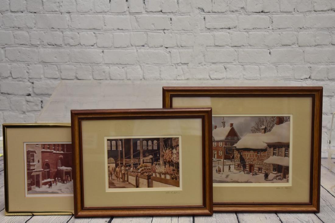 Three Signed William Falkler Prints