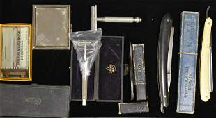 Grouping of Vintage Razors