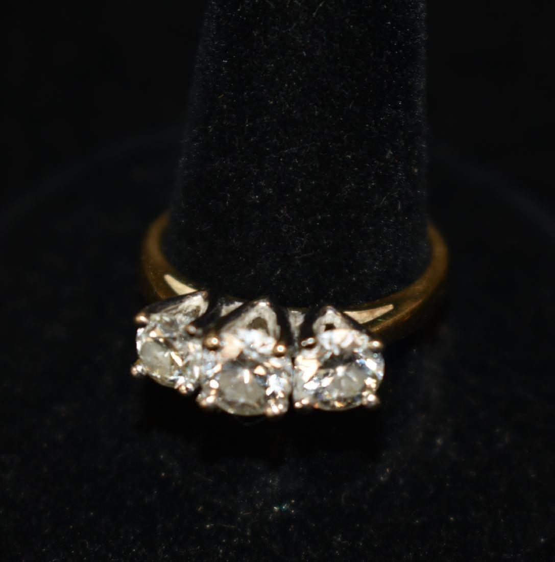 Quality Three Stone Engagement Ring