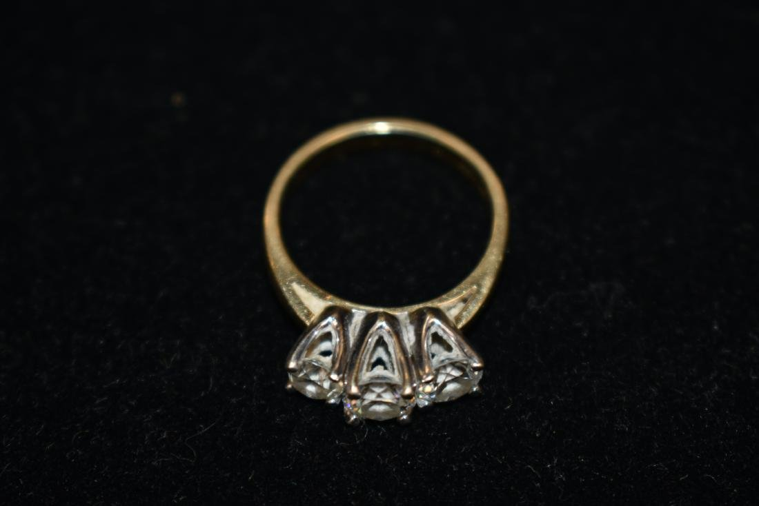 Quality Three Stone Engagement Ring - 2