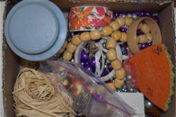 Costume Jewelry and Buttons