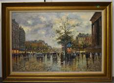 Oil on Canvas by Antoine Blanchard II