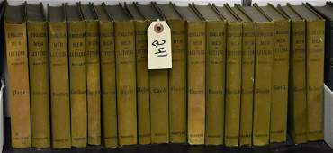 """""""English Men Of Letters"""" Book Set by Morley"""