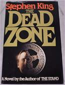 Autographed Copy of The Dead Zone by Stephen King