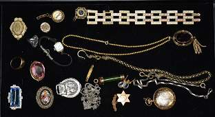 Large Victorian Jewelry Grouping