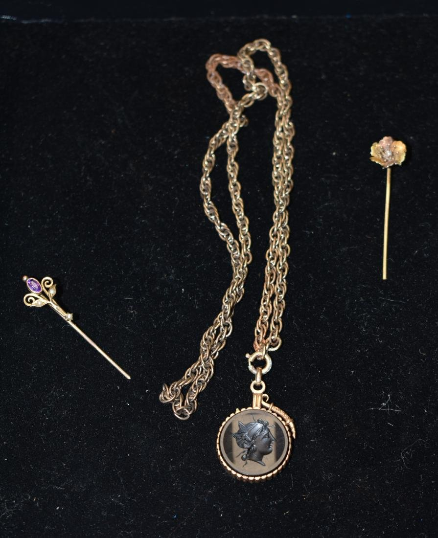 14K and 10k Gold Victorian Jewelry
