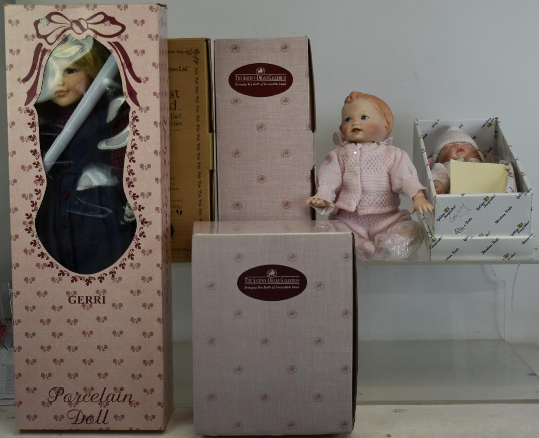 Six Contemporary Dolls
