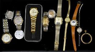 Grouping of Wrist Watches