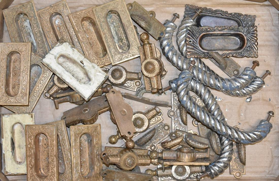 Victorian Brass Hardware Collection