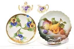Limoges and Other Hand Painted China