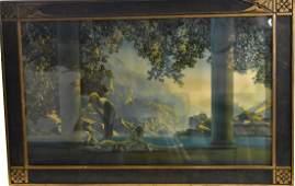 Original Maxfield Parrish Daybreak (Large Folio)