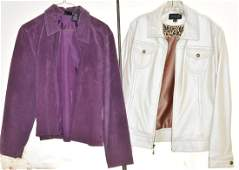 Ladys Leather Jacket and a Suede Jacket