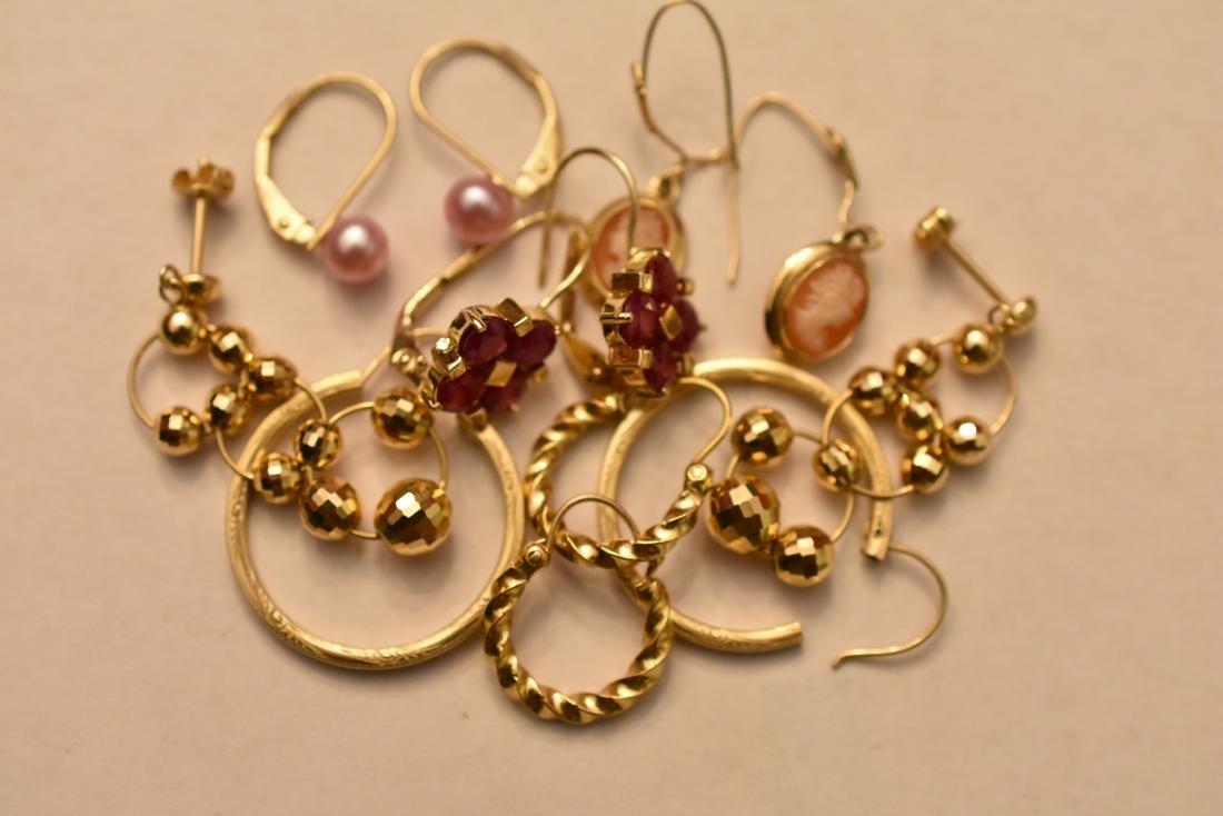 14K & 18K Gold Earrings