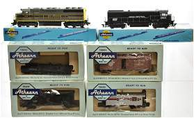 Vintage Athearn HO Trains
