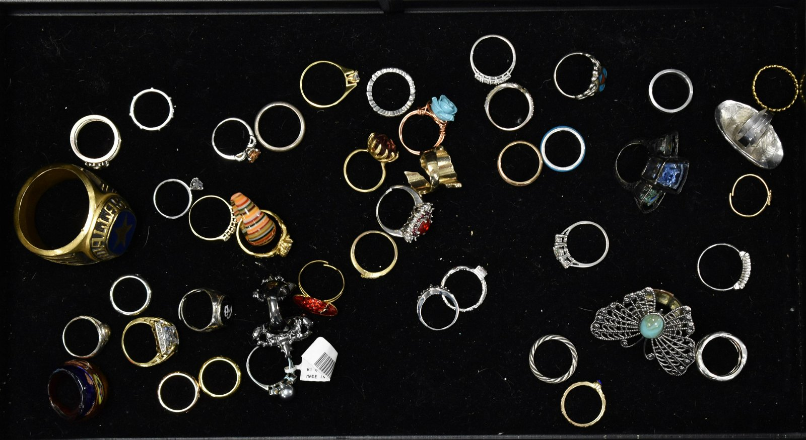 Collection of Costume Jewelry rings