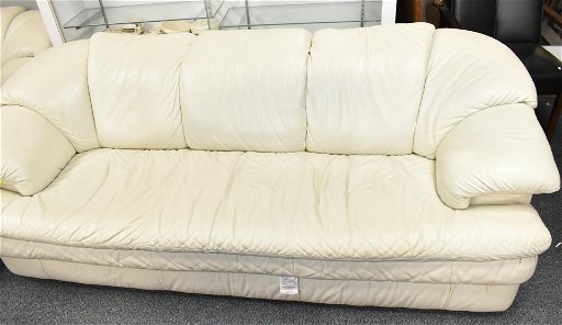 Super Vintage Italian White Leather Sofa Aug 24 2019 Keystone Gmtry Best Dining Table And Chair Ideas Images Gmtryco