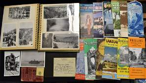 Railroad and Travel Related Ephemera Post Cards