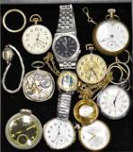 Pocket Watches and Wrist Watches