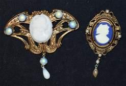 Vintage Art Nouveau Costume Jewelry