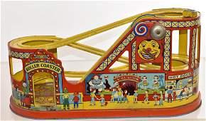 J Chein Tin Litho Rollercoaster