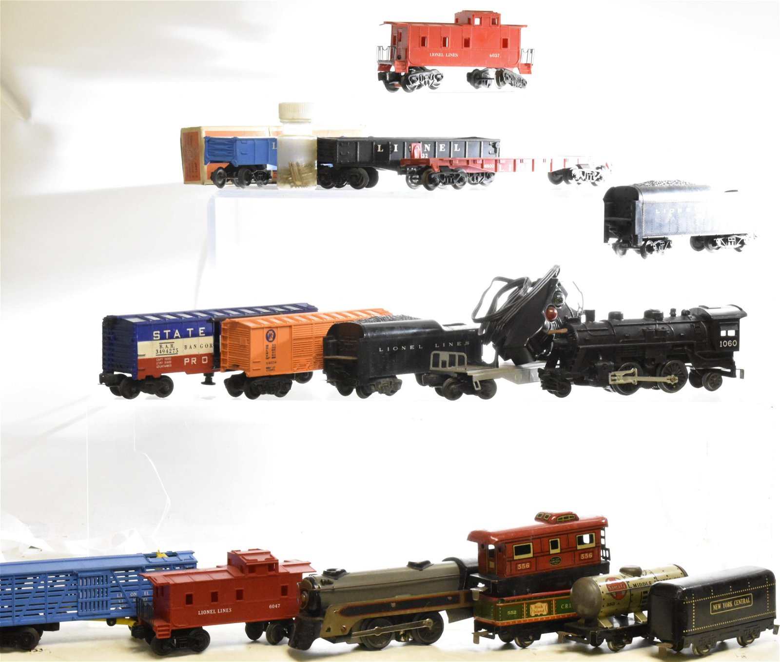 Vintage Marx and Lionel Trains