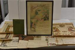 18th  19th Century Fraktur Collection