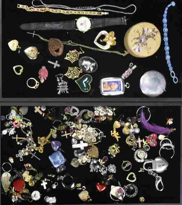Costume Jewelry Collection - Two Trays