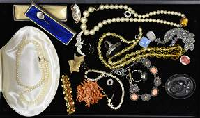 Victorian and Mid Century Jewelry Collection