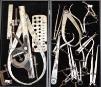 Two Trays of Machinist Tools