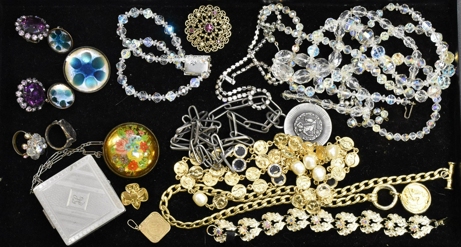 Vintage Rhinestones and other Jewelry