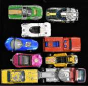 Grouping of Hot Wheels Red Line Vehicles