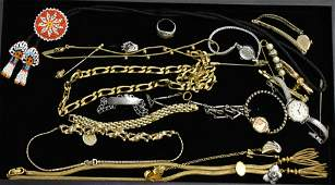 Ladys Watches and Costume Jewelry