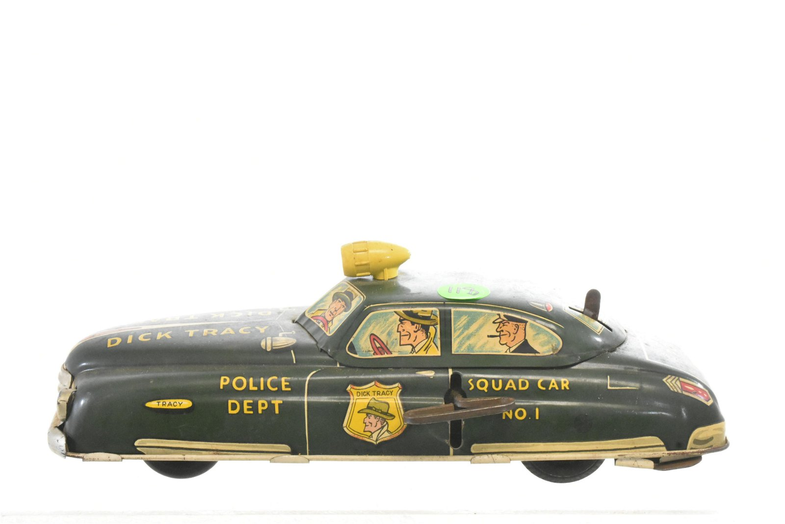 Vintage Marx Dick Tracy Wind Up Squad Car #1