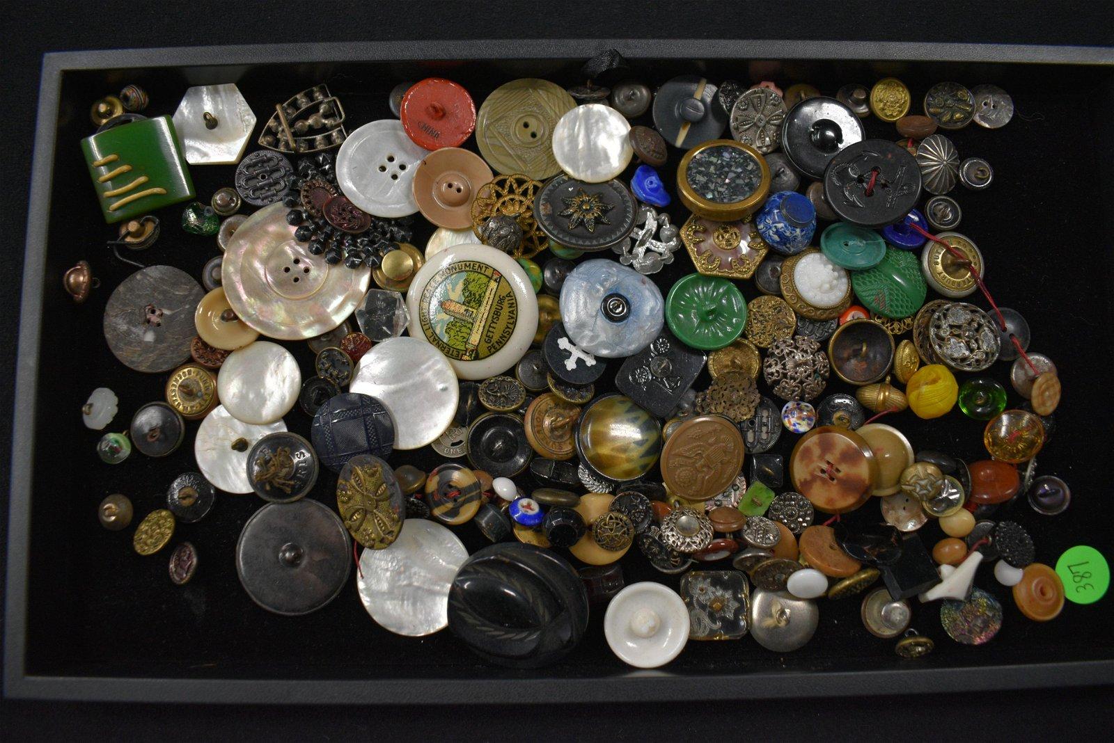 Antique Button Collection