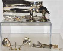 Sterling and Silver Plate Grouping